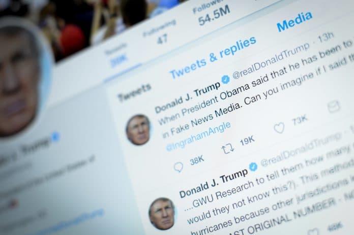 Twitter sanctionne le compte de Donald Trump pour avoir relayé une fake news