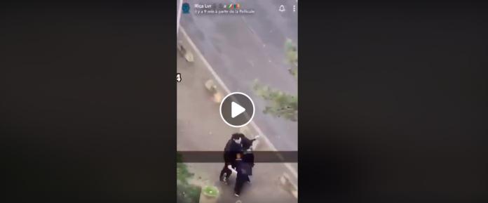 Val de Marne Un homme armé d'un couteau tente de violer une femme voilée - VIDEO