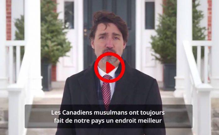 Canada le premier ministre Justin Trudeau souhaite Ramadan beni a tous les Musulmans VIDEO