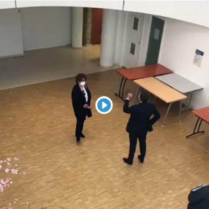 Cette dispute entre Macron et une soignante cachée par l'Élysée
