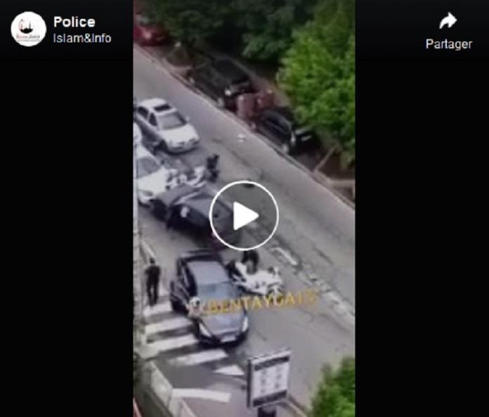 Colombes : un grave accident provoque l'hospitalisation de deux policiers - VIDÉO