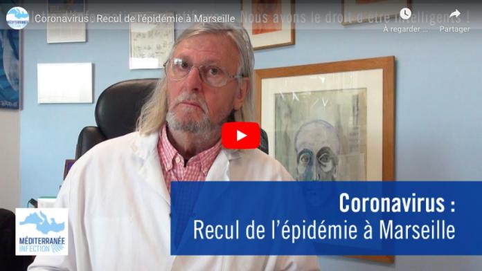 Coronavirus L'épidémie disparait progressivement à Marseille soutient le Pr Didier Raoult VIDEO