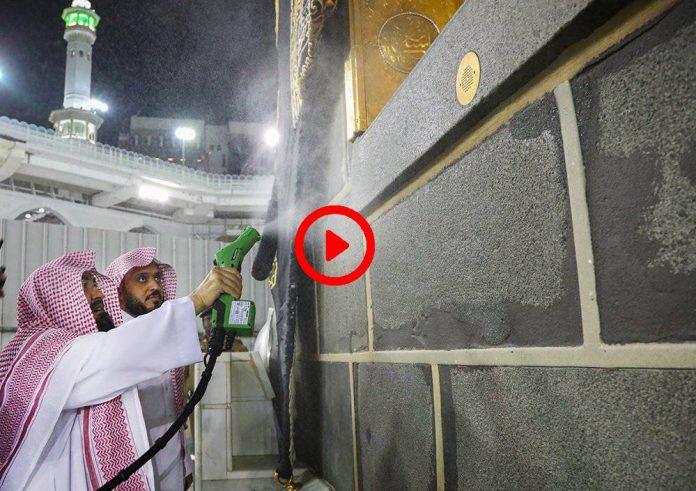 Coronavirus - L'Imam de La Mecque Cheikh Al-Sudais inspecte et nettoie al-Harâm - VIDEO