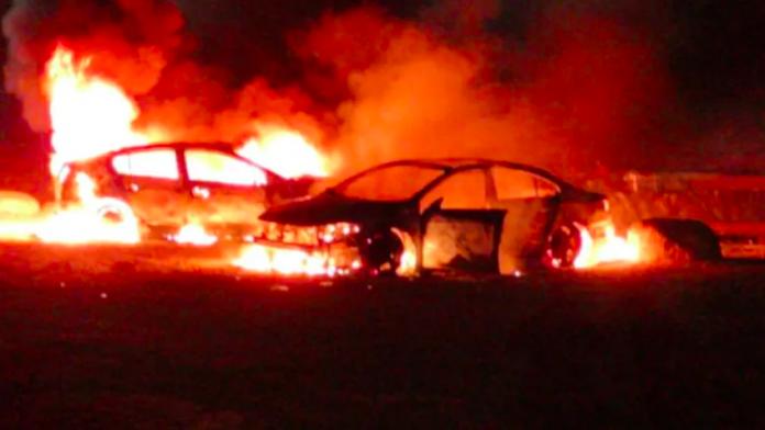 Coronavirus des colons israéliens placés en quarantaine incendient des voitures palestiniennes