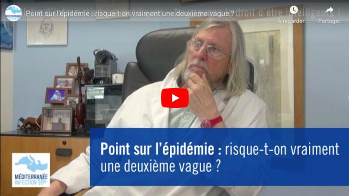Coronavirus pour le Pr Didier Raoult, une deuxième vague de l'épidémie est une fantaisie VIDEO