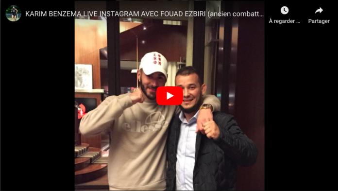 Karim Benzema et Fouad Ezbiri donnent les secrets de leurs réussites en live sur Instagram VIDEO