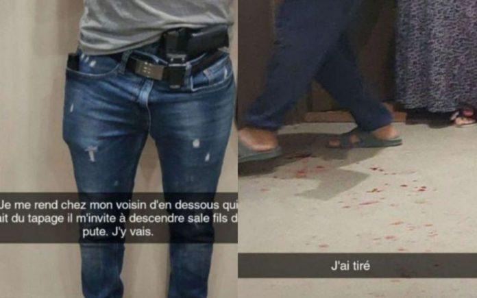 Noisy-le-Grand : Un policier tire sur son voisin et diffuse ses « exploits » sur Snapchat
