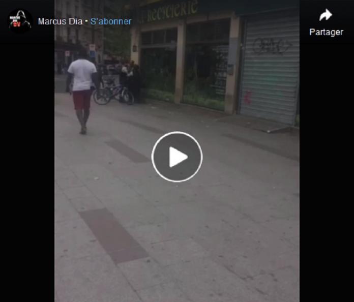 Paris : contrôlé pour vente illégale, un homme se fait étrangler par la Police - VIDEO