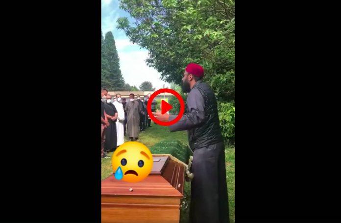 Ramadan un frère fait un rappel très émouvant lors d'une janaza VIDEO