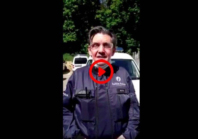 Un policier belge souhaite un bon Ramadan dans un arabe impeccable - VIDEO