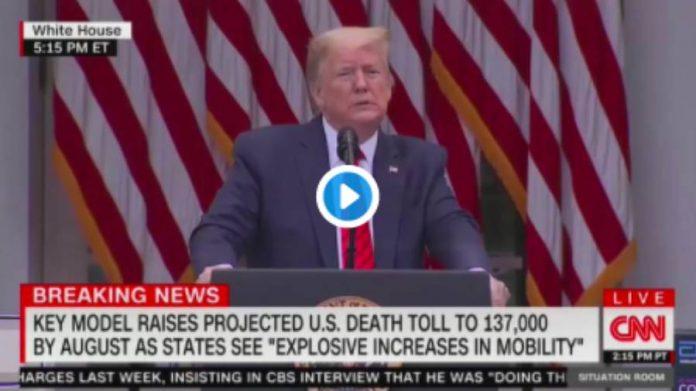 « Demandez à la Chine ! » Trump explose de colère lors d'une conférence de presse - VIDEO