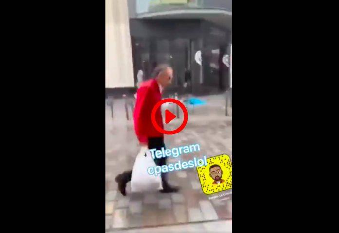 «Fils de ****, petit c**» un homme insulte Eric Zemmour dans la rue et lui crache dessus - VIDEO