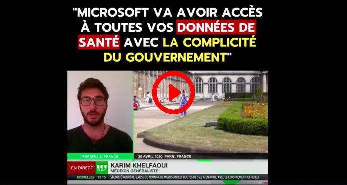 «Microsoft va avoir accès à toutes nos données de santé» alerte le Dr Karim Khelfaoui - VIDEO