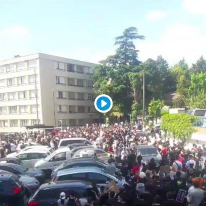 Argenteuil des milliers de personnes ont assisté à la marche pour Sabri - VIDEO (1)