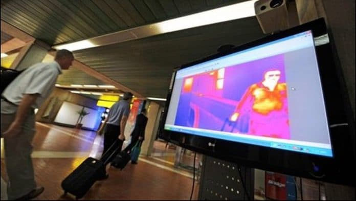 Coronavirus : L'aéroport de Roissy déploie des caméras thermiques pour contrôler tous les voyageurs