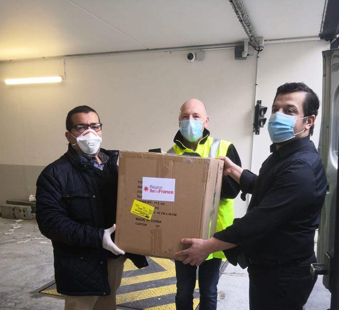 Coronavirus - Valérie Pécresse offre des masques aux imams d'Ile-de-France