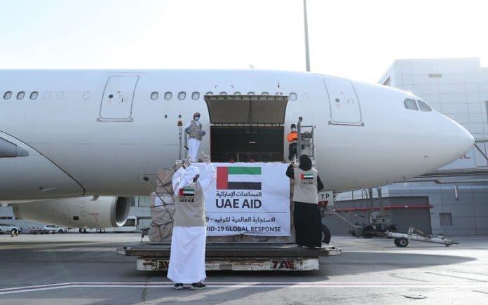 Coronavirus : les Émirats arabes unis acheminent une aide médicale aux Palestiniens lors de leur premier vol direct vers Israël