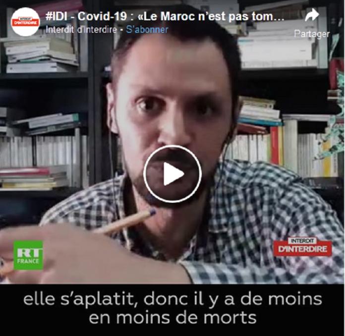 Coronavirus : un chercheur explique les choix politiques et médicaux du Maroc comparés à la France - VIDEO