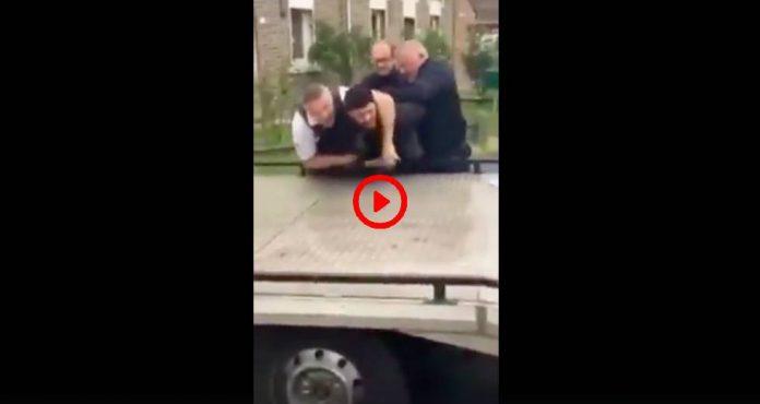 Douai Souleymane subit une bavure policière alors qu'il se rendait sur son lieu de travail - VIDEO
