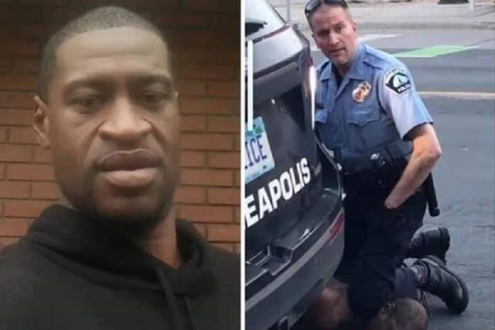Floyd et le policier l'ayant tué sont