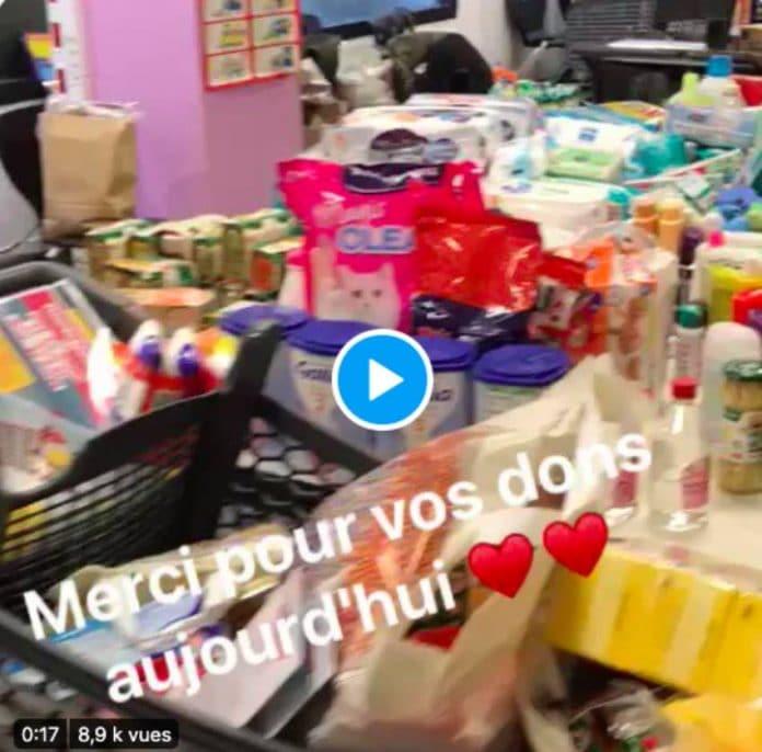 Hauts-de-Seine des jeunes collectent des denrées alimentaires pour les familles démunies - VIDEO