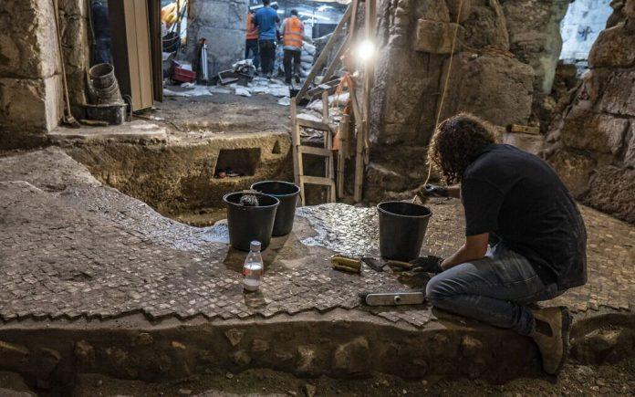 Jérusalem - des archéologues découvrent de mystérieuses chambres souterraines près de la Mosquée Al-Aqsa
