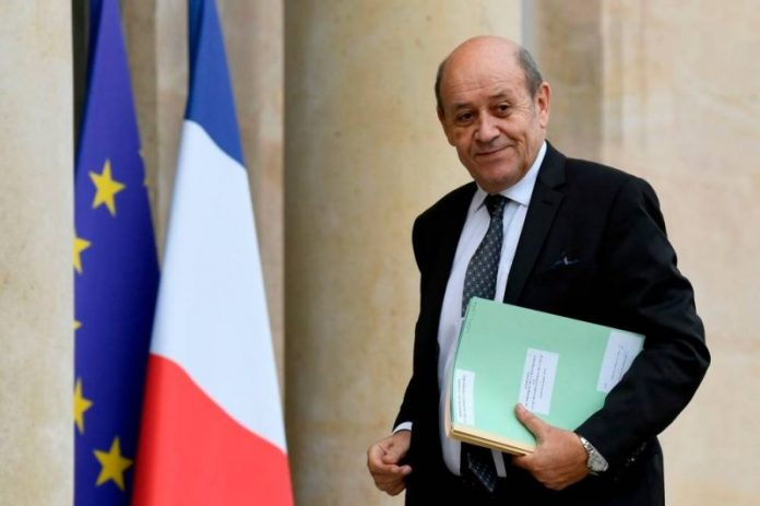 Jean-Yves Le Drian annonce