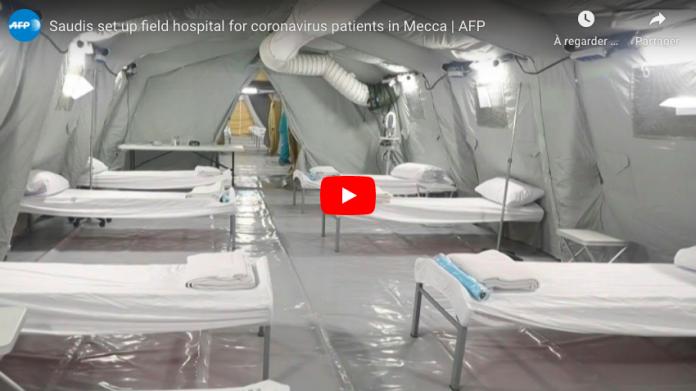 La Mecque l'Arabie saoudite construit un hôpital de campagne pour traiter les patients du Covid-19 - VIDEO