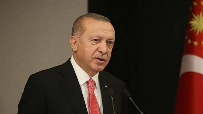 Le Président Erdogan déclare
