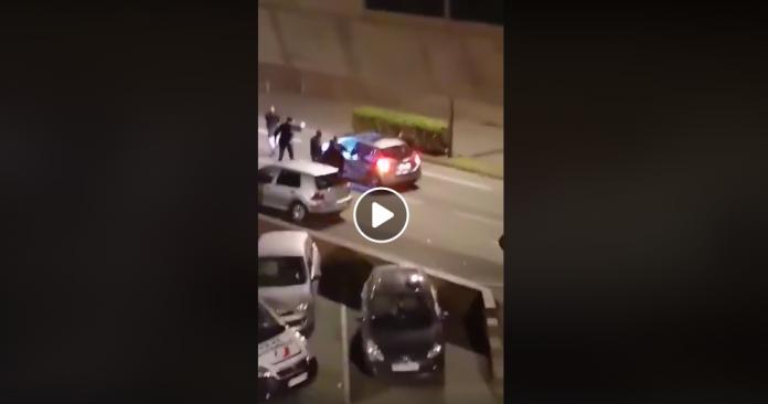 Lille Fils de **** de bougnoules ! des policiers maltraitent deux africains qui rentraient chez eux, une automobiliste perd le contrôle de son véhicule - VIDEO