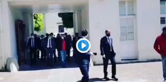 """Macron s'énerve sur un syndicaliste : """"Si vous n'en voulez pas, ne la prenez pas!"""" - VIDÉO"""