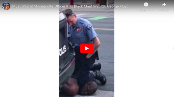 Minneapolis une vidéo montre les derniers instants d'un afro-américain agonisant tué par la police - VIDEO