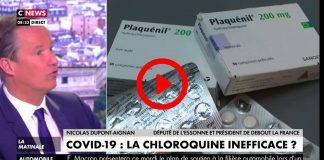 Nicolas Dupont-Aignant«Si le traitement du Pr Raoult était à 100 euros et pas à 3 euros, il n'y aurait pas les mêmes études» - VIDEO