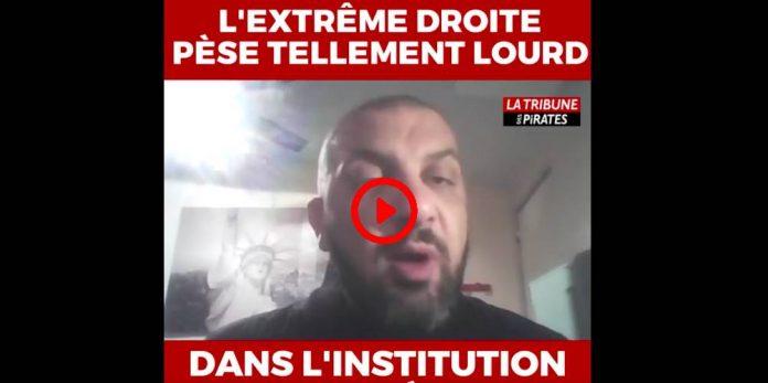 Noam Anouar « L'extrême-droite pèse tellement lourd dans l'institution policière »VIDEO (1)