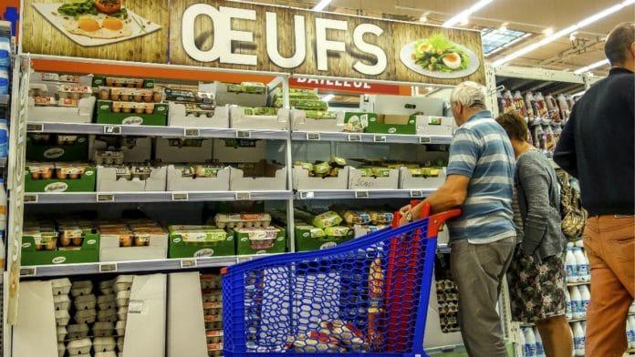 Salmonelle : Rappel d'un demi-million d'œufs vendus dans les supermarchés français