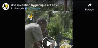 Un Kényan de seulement 9 ans invente une machine hygiénique pour se laver les mains