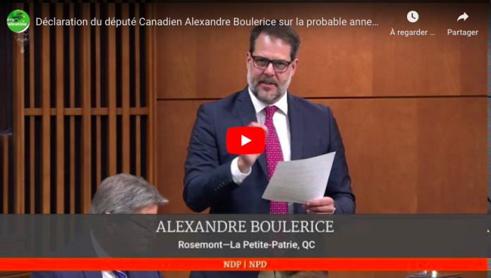 Un député canadian défend les Palestiniens face à l'annexion israélienne - VIDEO