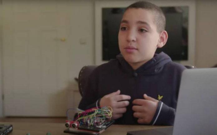 Wail, un jeune marocain de 12 ans, invente la machine idéale pour cette période de déconfinement