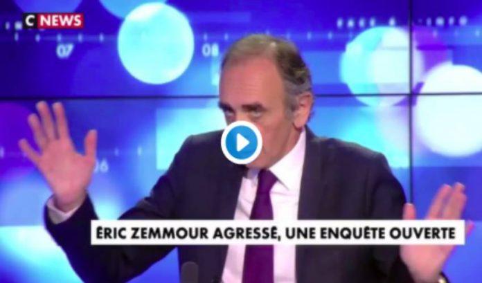 Zemmour sort de son silence après son agression et se prend pour un martyr - VIDEO
