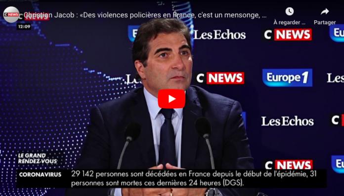 «On n'a jamais vu de violence policières en France» déclare Christian Jacob - VIDEO