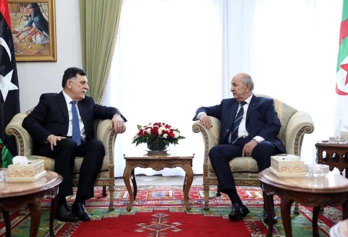 Alger renouvelle son offre de médiation entre les parties belligérantes en Libye alors que le président Tebboune accueille le Premier ministre al-Sarraj, président Saleh.