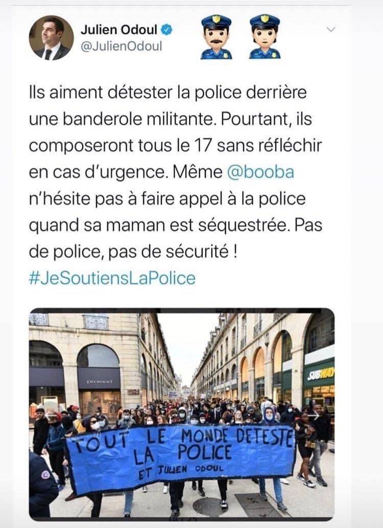 Booba vs Julien Odoul - les hostilités reprennent sur Twitter