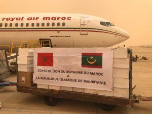 Coronavirus - le roi Mohammed VI envoie une aide médicale à 15 pays africains2