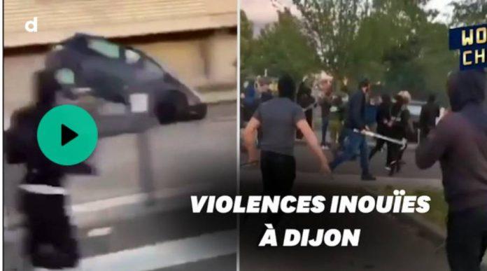 Dijon la communauté tchétchène venge l'un des siens lors de violents affrontements