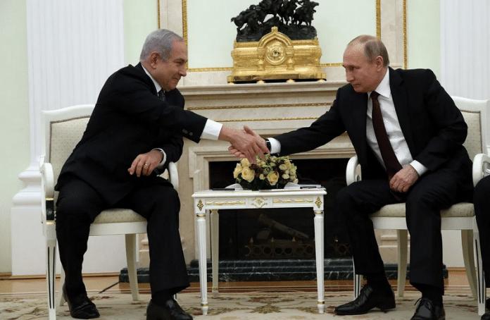 En s'opposant à la création d'un État palestinien, Netanyahu affirme que Poutine a sauvé Israël
