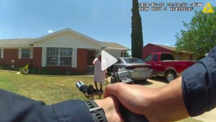 Etats-Unis une grand-mère de 90 ans s'effondre en s'interposant entre son petits-fils des policiers - VIDEO