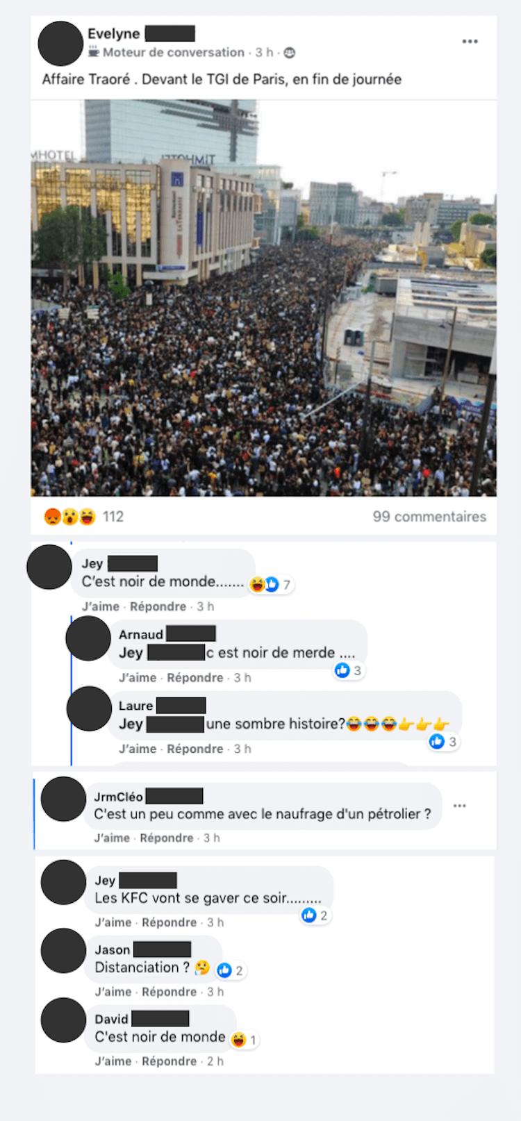 Facebook - 8 000 policiers échangent des messages racistes et se moquent de la mort de Zyed et Bouna, Sabri, Kémyl,…2