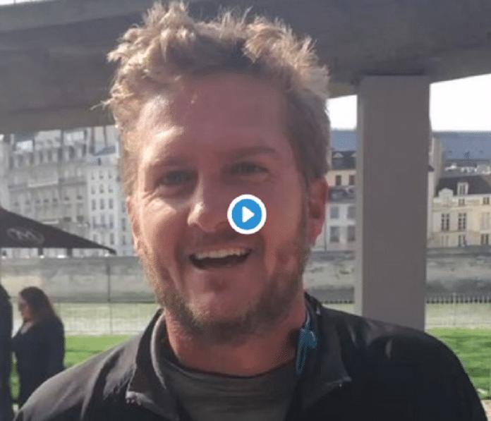 Frédéric, un joggeur, surprend Jamel Debbouze en lui parlant en arabe