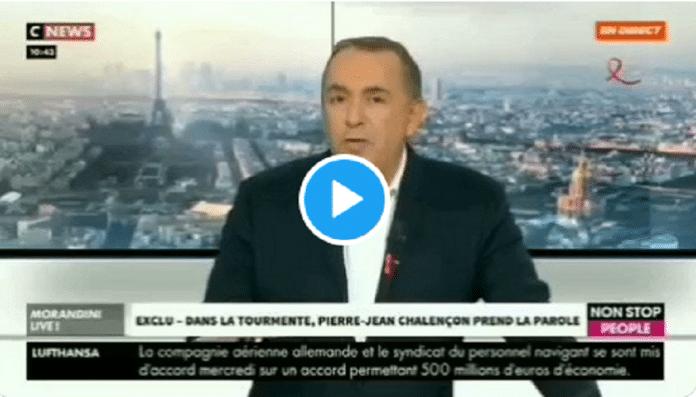 Interrogé au sujet de ses rapports avec Dieudonné, Pierre-Jean Chalençon fond en larmes
