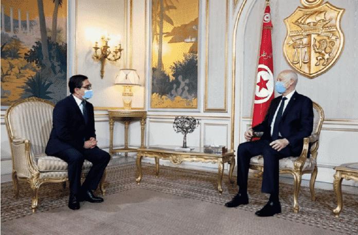 Le Roi du Maroc Mohammed VI s'adresse au président tunisien